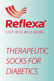 Reflexa Diabetic Socks